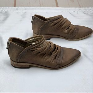 Free People | Tan Lost Valley Pointed Toe Booties